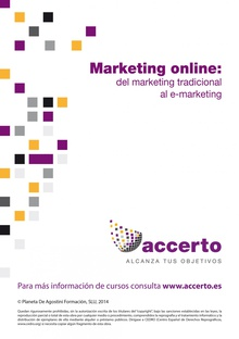 Marketing online: del marketing tradicional al e-marketing