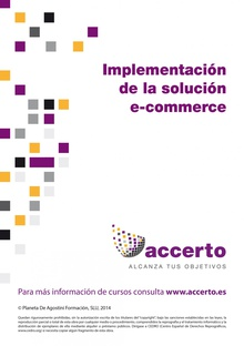 Implementación de una solución e-commerce